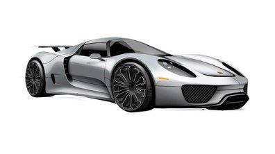 Future Porsche 918 : premières images et prix de 645.000 euros