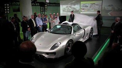 Vidéo : voici la Porsche 918 Spyder !