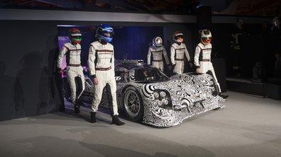 Endurance : un moteur V4 pour la Porsche 919 Hybrid