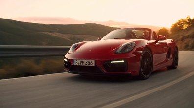 Porsche Boxster GTS 2014 : présentation officielle