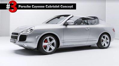 Porsche : Le concept insolite Cayenne Cabriolet révélé au grand jour !