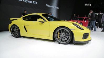 Porsche Cayman GT4, la fille de GT3 au Salon de Genève 2015