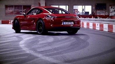 Insolite : La Porsche Cayman GTS sur un circuit de karting