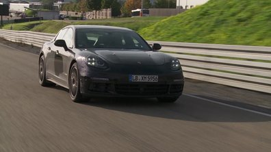 Future Porsche Panamera 2016 : les prototypes en action