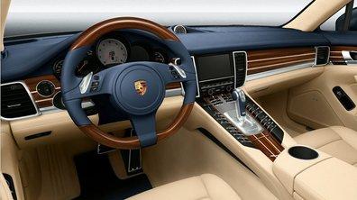 La Porsche Panamera se met à la personnalisation officielle