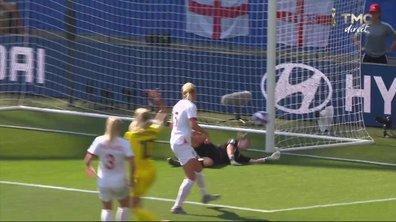 Angleterre - Suède (0 - 1) : Voir le poteau de Jakobsson en vidéo