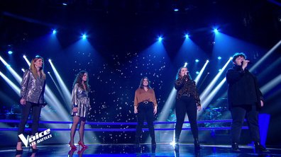 The Voice 2021 - Canta Diva VS Pottok on the Sofa chantent « Bicycle race » de Queen