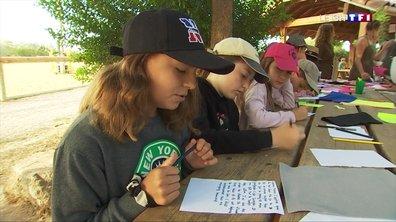 Pouget : les enfants reprennent goût à la lettre en colonie de vacances