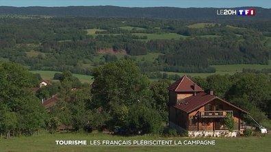 Pour leurs vacances d'été, les Français se laissent tenter par la campagne