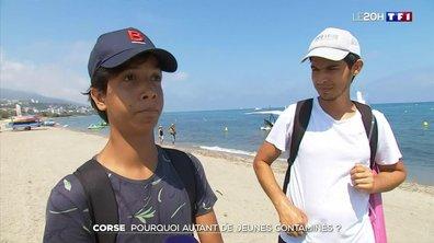 Pourquoi autant de jeunes contaminés en Corse ?