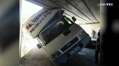 Pourquoi des camionnettes s'encastrent-elles sous la voûte du pont de la Fonderie à Mulhouse ?