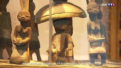 Pourquoi la France va restituer 26 œuvres d'art au Bénin
