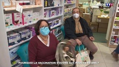 Pourquoi la vaccination s'ouvre aux plus de 55 ans ?