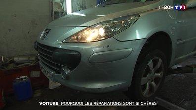 Pourquoi les réparations auto sont si chères