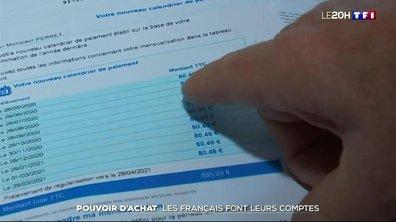 Pouvoir d'achat : les Français font leurs comptes