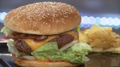Cheeseburger au bacon