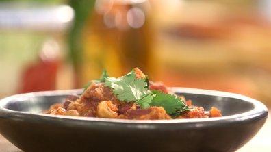 Ragoût de légumes aux haricots rouges aux épicées végétarien (« chili sin carne »)