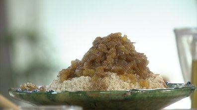 Couscous d'orge sucré à la marocaine