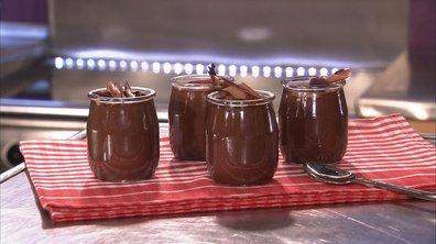 Petit pot de crème au chocolat-fève tonka