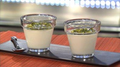 Crème de lait à la fleur d'oranger
