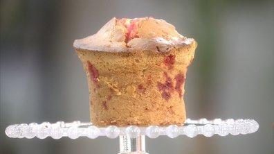 Cake d'amour aux pommes et pralines roses