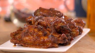 Ailerons de dinde sauce BBQ aux cranberries (canneberges, en français)