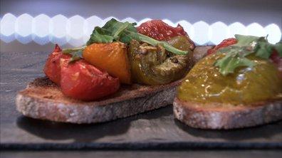 Tomates rôties-confites à la provençale