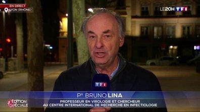 """Pr Bruno Lina : """"Ce confinement est indispensable, il faut qu'il dure suffisamment longtemps pour qu'on voit l'effet"""""""