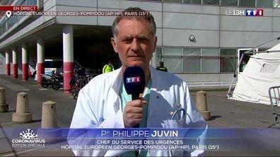 """Pr Philippe Juvin : """"Il faut prolonger le confinement"""""""