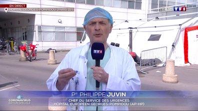 """Pr Philippe Juvin : """"Si nous voulons sauver des vies, il faut prendre de grandes décisions"""""""