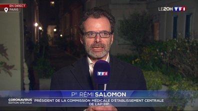 """Pr Rémi Salomon : """"J'en appelle solennellement à tous les personnels de santé de venir nous rejoindre dans les hôpitaux"""""""