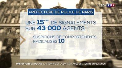 Préfecture de police : la sécurité et la surveillance des agents en question