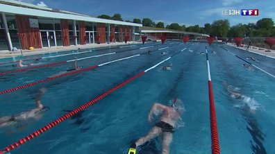 Premier plongeon sous surveillance dans cette piscine de Dijon