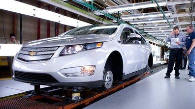 La première Chevrolet Volt est sortie !