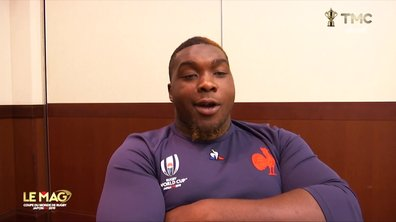 "XV de France - Bamba : ""Je serai à fond derrière l'équipe"""