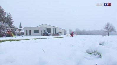 Les premières chutes de neige en Moselle