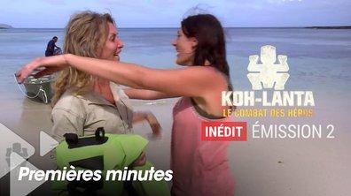 EXCLU. Découvrez les retrouvailles de Julie et Chantal sur l'île de l'Exil… avant leur duel !