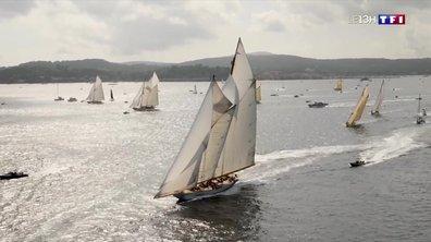 Près de 200 bateaux s'affrontent aux Voiles de Saint-Tropez