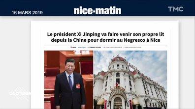Le président chinois Xi Jinping a-t-il voyagé avec son lit perso ? Itinéraire d'une rumeur