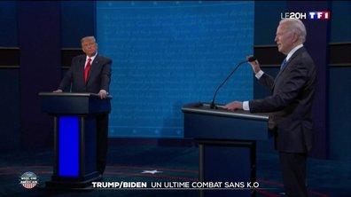 Présidentielle américaine : retour sur l'ultime débat entre Donald Trump et Joe Biden