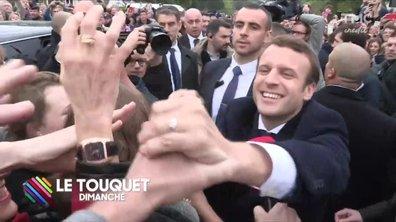 La folle journée du candidat Macron
