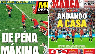 Espagne-Russie : la presse espagnole a l'élimination amère