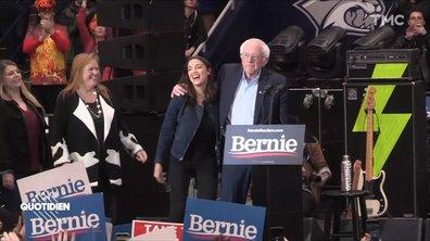 Primaires américaines : une journée avec Bernie Sanders, Alexandria Ocasio-Cortez et.. les Strokes