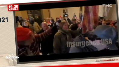 Procès de Donald Trump : les images chocs de la vidéosurveillance du Capitole