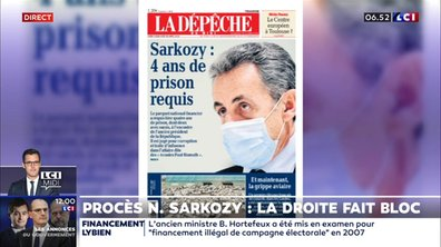 Procès Nicolas Sarkozy : la droite fait bloc