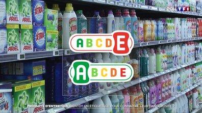 Produits d'entretien : bientôt un étiquetage pour connaître leur dangerosité ?