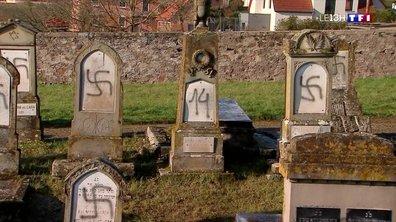 Profanation d'un cimetière juif : les Alsaciens consternés par ce nouvel acte