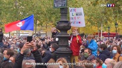 Professeur assassiné : l'hommage des Français