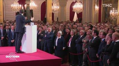 Profession président : 3 questions sur le dîner de Macron avec les maires