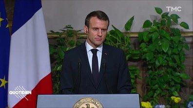 Profession président : en Égypte, Macron avale des couleuvres